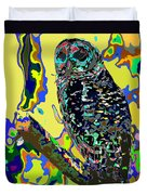Psychedelic Owl Duvet Cover