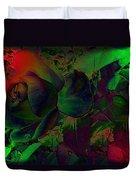 Psychedelic Rose Duvet Cover