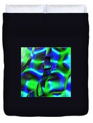 Psychedelic Streamers By Jammer Duvet Cover