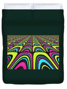 Psychel - 003 Duvet Cover by Variance Collections