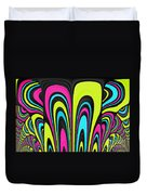 Psychel - 007 Duvet Cover by Variance Collections