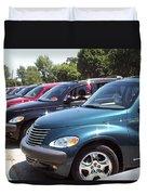 Pt Cruiser Michigan Event Duvet Cover
