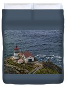 Pt Reyes Lighthouse Duvet Cover