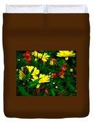 Puck's Garden Duvet Cover