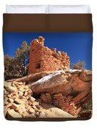 Pueblo Cliff Duvet Cover