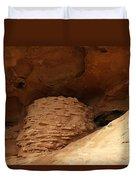 Pueblo Indian Ruins Duvet Cover