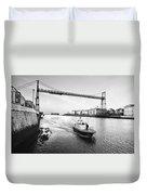 Puente Colgante V Duvet Cover