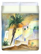 Puerto Carmen Sunset In Lanzarote 03 Duvet Cover