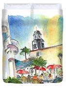 Puerto De La Cruz 01 Duvet Cover