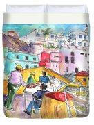 Puerto De Sardina 01 Duvet Cover