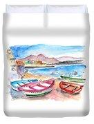 Puerto De Sardina 03 Duvet Cover
