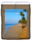 Puerto Rico Beach Duvet Cover