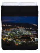 Puerto Rico By Night  Duvet Cover