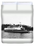 Puget Sound Ferry Boat Duvet Cover
