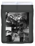 Pullman Car El Fleda Duvet Cover