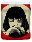 Pulp Fiction Poster Duvet Cover