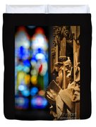 Pulpit Trinity Cathedral Pittsburgh Duvet Cover