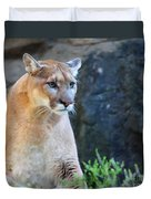 Puma On The Watch Duvet Cover