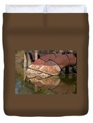 Pumphouse Intake Pipes Duvet Cover