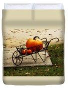 Pumpkin Barrow Duvet Cover