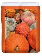 Pumpkin Happy Duvet Cover