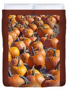 Pumpkin Harvest Duvet Cover