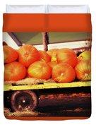 Pumpkin Load Duvet Cover