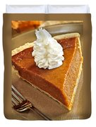Pumpkin Pie Duvet Cover