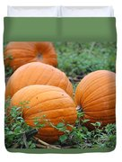 Pumpkin Pie Duvet Cover