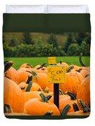 Pumpkins II Duvet Cover