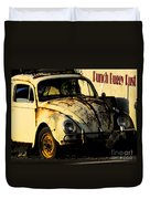Punch Buggy Rust Duvet Cover