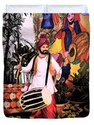 Punjabi Dhol Duvet Cover