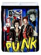Punk Style Duvet Cover