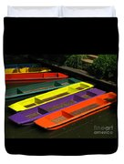 Punts For Hire Duvet Cover