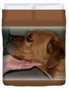 Puppy Loyalty Duvet Cover