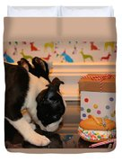 Puppy Party Duvet Cover