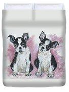 Puppy Puppy Duvet Cover