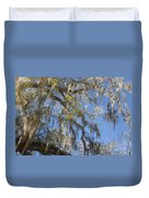 Pure Florida - Spanish Moss Duvet Cover by Christine Till