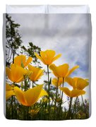 Purely Poppies  Duvet Cover