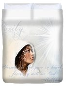 Purity Duvet Cover by Jennifer Page