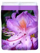 Purple Azalea Duvet Cover