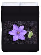 Purple Beauty Duvet Cover