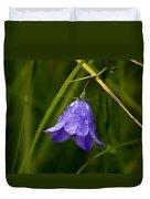 Purple Bell Duvet Cover