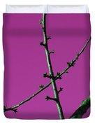 Purple Branches Duvet Cover