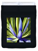 Purple Cactus Duvet Cover