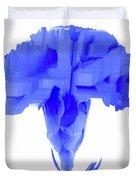 Purple Carnation Duvet Cover