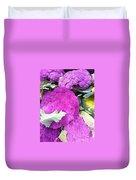 Purple Cauliflower Duvet Cover