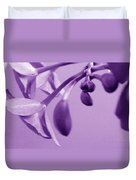 Purple Charm Duvet Cover