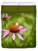 Purple Coneflower 8732 Duvet Cover