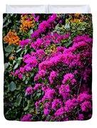 Purple Contrast Duvet Cover